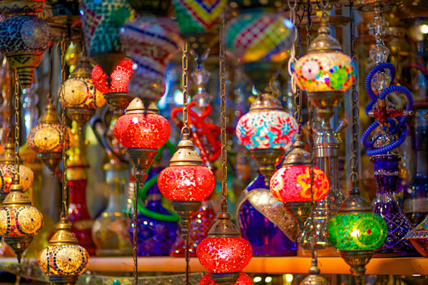Istanbul Color Globes | Urban Art Photography Print