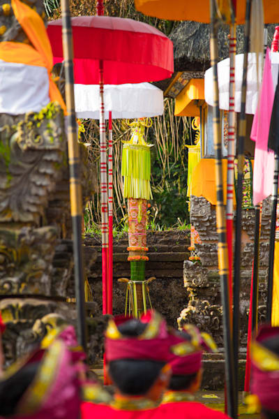 Balinese Temple Ceremony II | Travel Art Photography Print