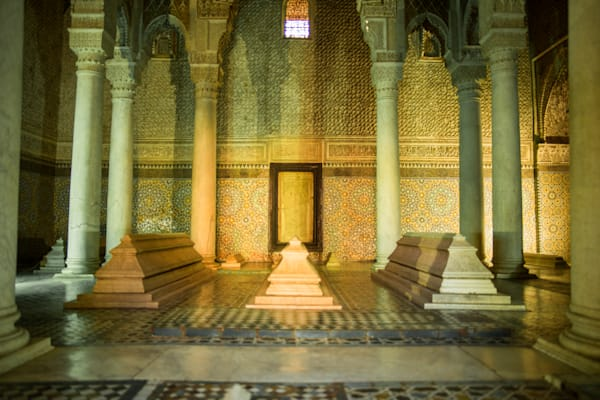 Medina of  Marrakech | Travel Art Photography Print