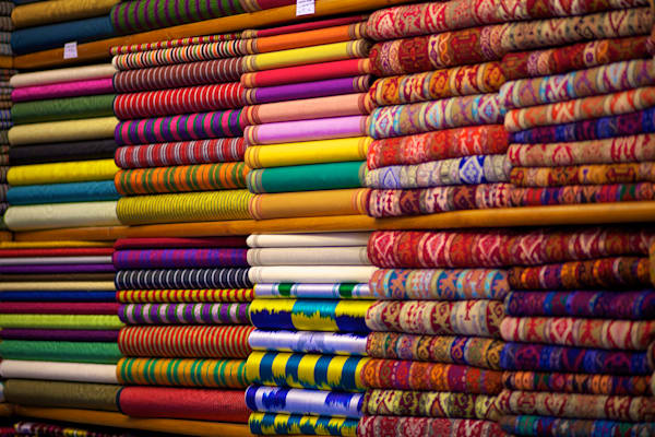 Istanbul Textiles | Travel Art Photography Print