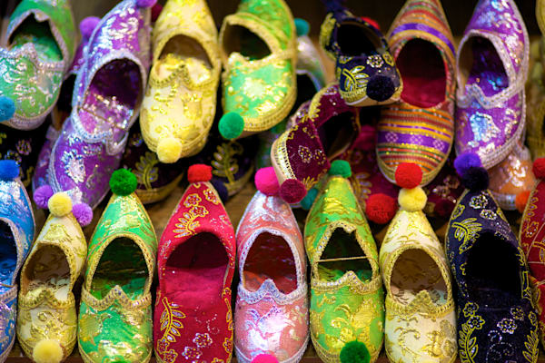 Istanbul Fancy Shoes | Travel Art Photography Print