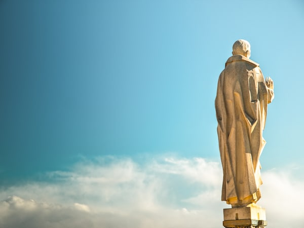 Milan Statue In The Sky | Travel Art Photography Print