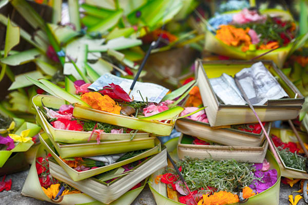 Balinese Offerings | Nature Art Photography