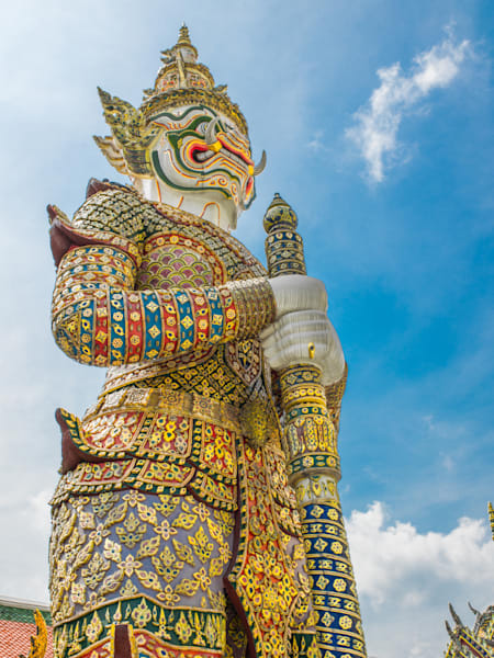 Ornate Thai Guard | Travel Art Photography Print