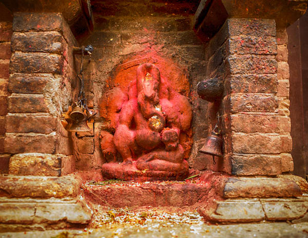 Kathmandu Offerings | Urban Art Photography Print
