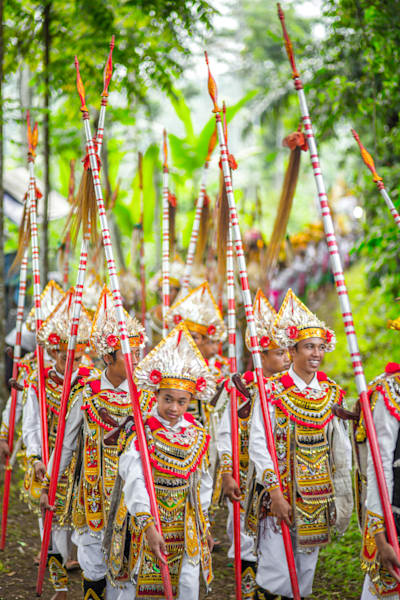 Penempanhan Ceremony, Bali II | Tropical Landscape Photography Print