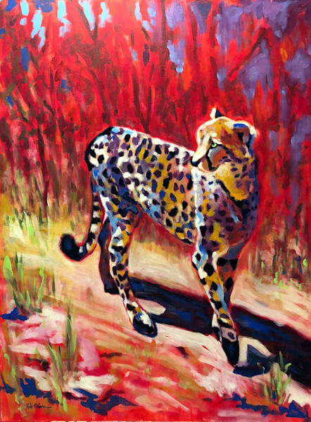 Original Fine Art Paintings & Prints of Animals and Wildlife in Oil and Acrylic