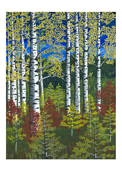 First Aspens Notecard