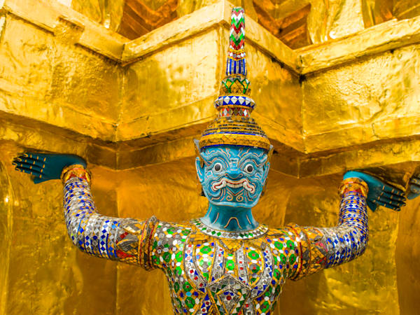 Thai Temple Guard | Travel Art Photography Print