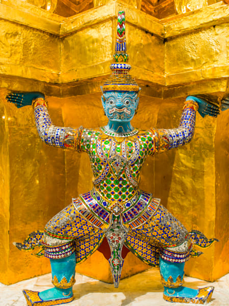 Blue Grand Palace Guard | Travel Art Photography Print