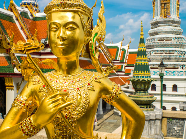 Grand Palace Bangkok | Travel Art Photography Print
