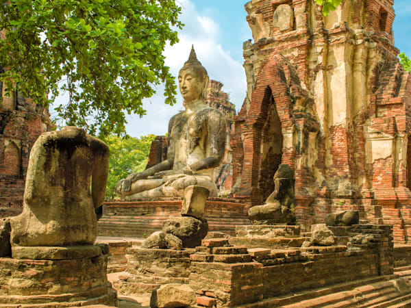 Ayutthaya Buddha | Travel Art Photography Print
