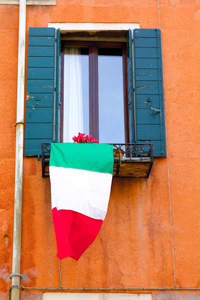 Venice Italian Pride | Travel Art Photography Print