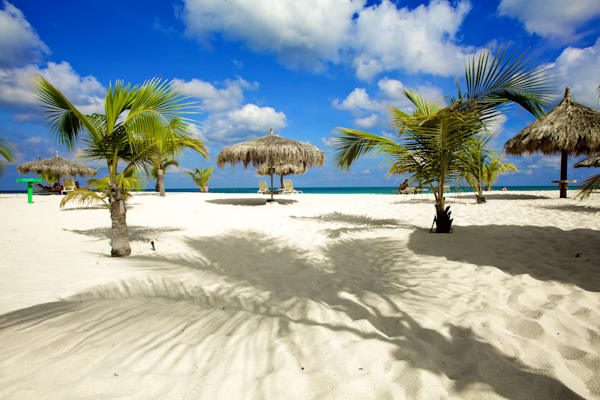 Aruba Beach Bliss | Tropical Landscape Photography Print