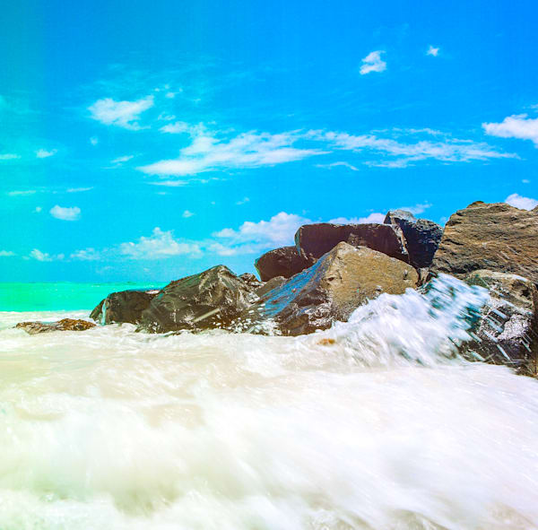 Barbados Rocky Point | Tropical Landscape Photography Print