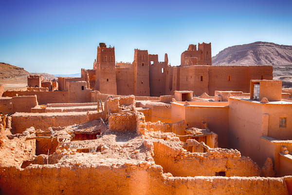 Morocco Village | Travel Photography Print