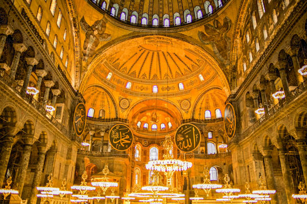 Istanbul Hagia Sofia | Travel Art Photography