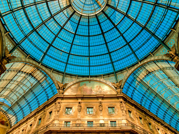 Milan Blue Dome | Travel Photography Print