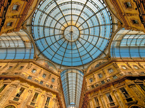 Milan Old World Galleria | Travel Photography Print