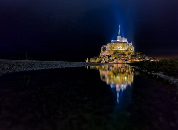 Mont St. Michel Reflection III | Travel Photography Print