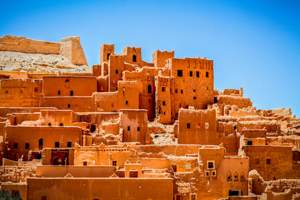 Historic Ait Ben Haddou | Travel Photography Print
