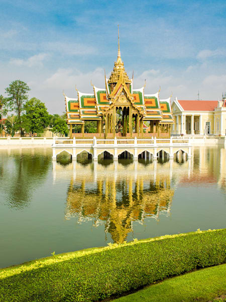 Bang Pa-In Royal Palace Reflection | Travel Photography Print