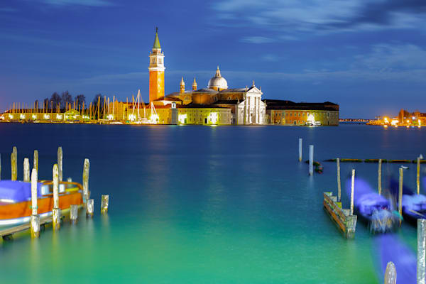 Venice Supermoon Glow | Travel Photography Print