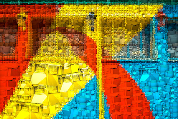 La Boca | Photomosaic Photography