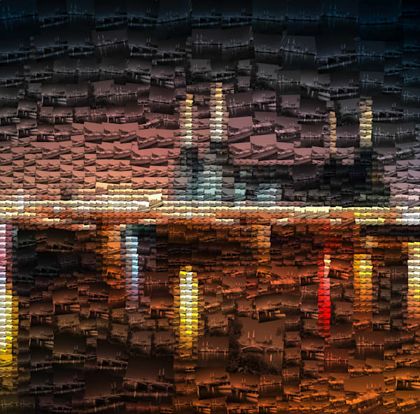 Battersea Power Station Mosaic | Photomosaic Photography
