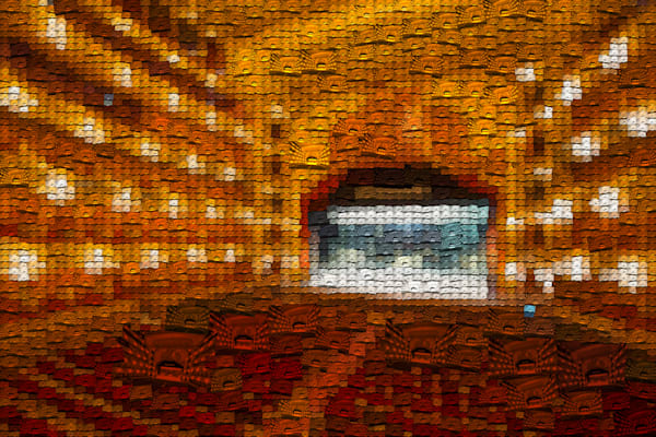 Teatro Colon | Photomosaic Photography