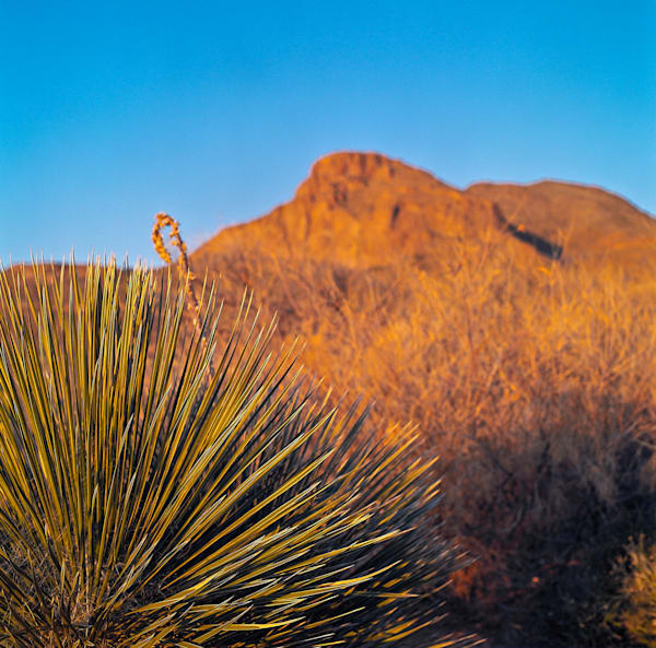 El Paso Orange Sunrise | Southwest Landscape Photography Print
