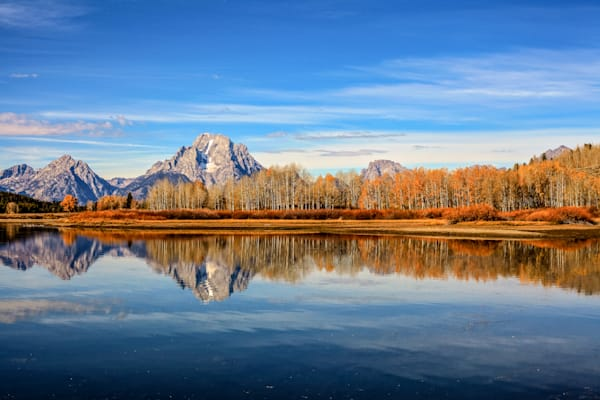 Grand Teton Reflection | Mountain Landscape Photography Print