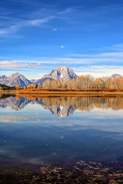 Wyoming Mountain Lake Reflection | Mountain Landscape Photography Print