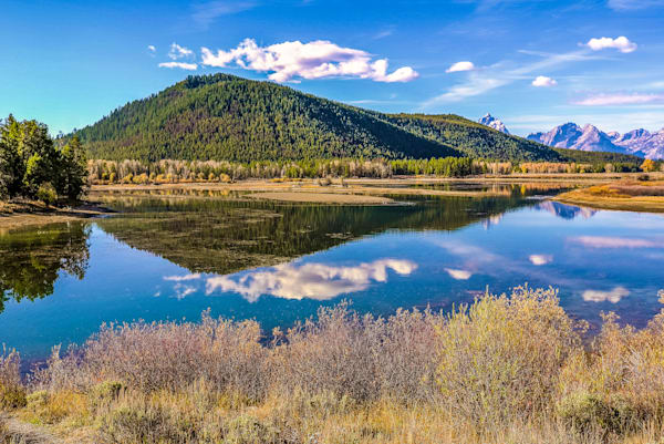 Wyoming Mountain Lake Reflection IV | Mountain Landscape Photography Print