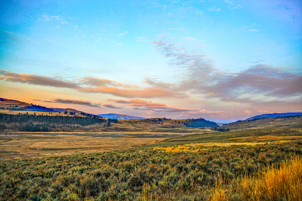 Wyoming Mountain Valley | Mountain Landscape Photography Print