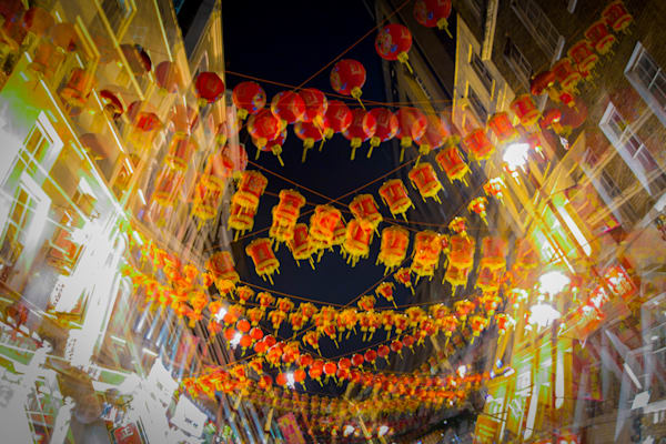 Festive Chinatown Multiple Exposure | Online Art Photography Store