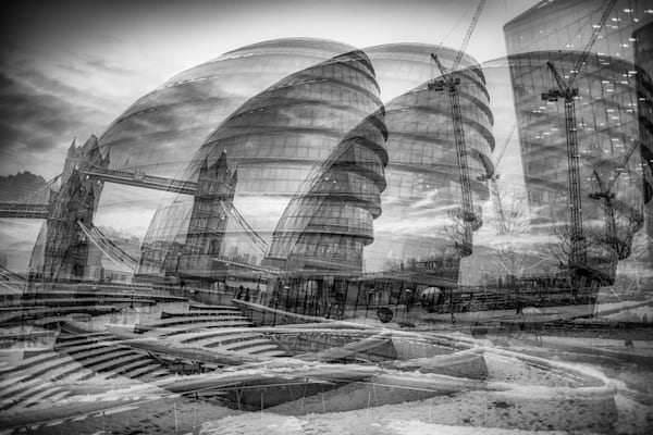 London Chaos Multiple Exposure | Online Art Photography Store