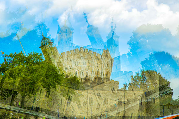 Tower Quake Multiple Exposure | Online Art Photography Store