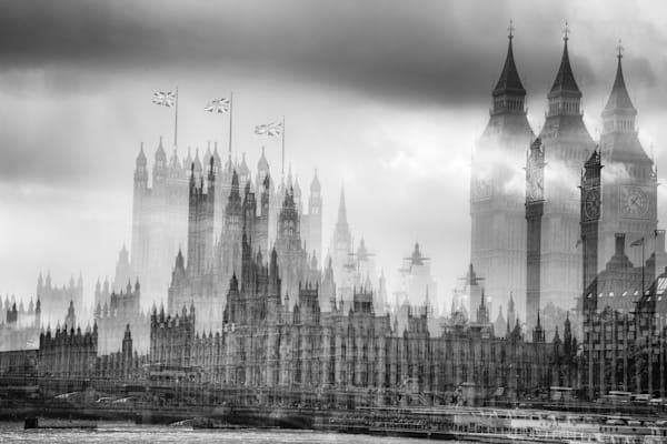 Palace Of Westminister Multiple Exposure | Online Art Photography Store