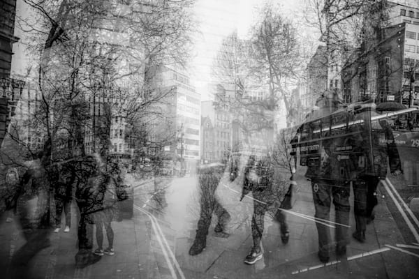 Charing Cross road Multiple Exposure | Online Art Photography Store