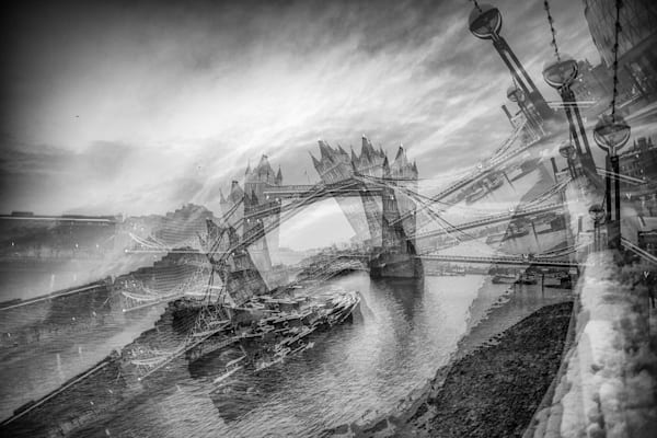 Tower Bridge Is Falling | Online Art Photography Store