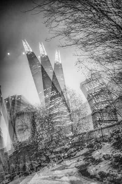 The Shard Tumbles | Online Art Photography Store