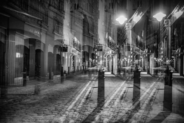Floral Street Multiple Exposure | Online Art Photography Store