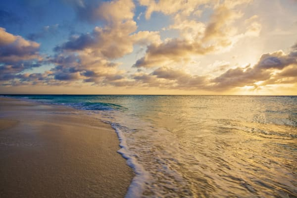 Aruba Tranquility | Tropical Landscape Photography Print