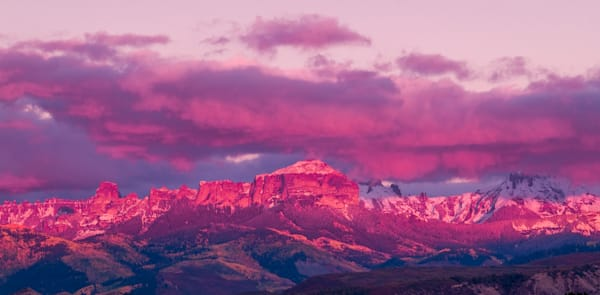 Purple Mountain Sunset | Sunset Photography Print