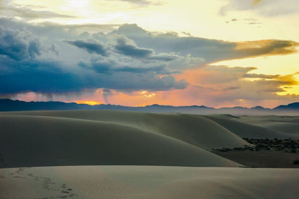 White Sands Sunset II | Sunset Photography Print