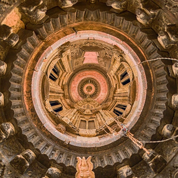 Bhaktapur Temple | Tiny Planet Art Photography