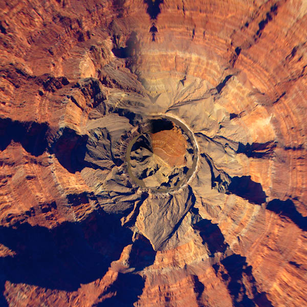 Grand Canyon | Tiny Planet Art Photography