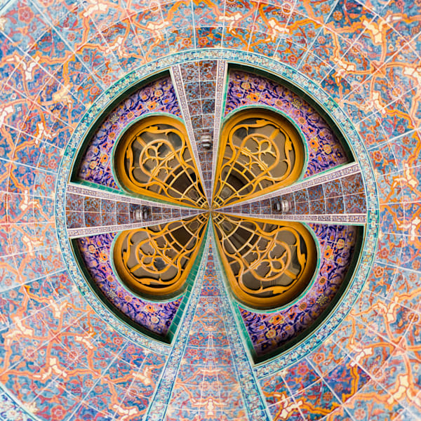 Qatar Mosaic | Tiny Planet Art Photography