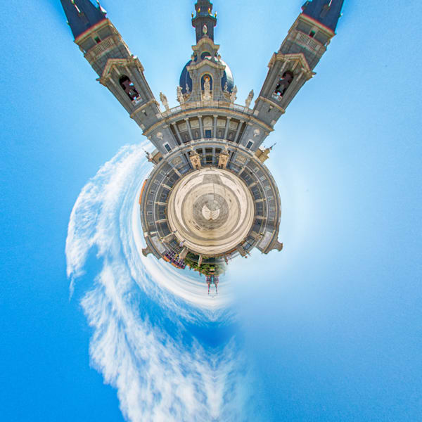 Madrid Spain II | Tiny Planet Art Photography